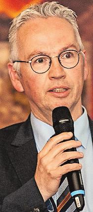 Hält die Festrede am Freitag: Landrat Rainer Guth. FOTO: DELL