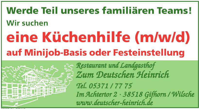 Restaurant und Landgasthof Zum Deutschen Heinrich