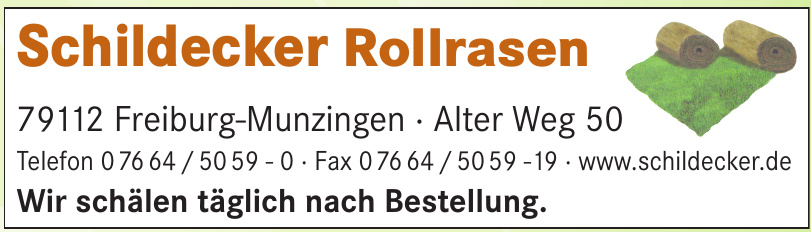 Schildecker Rollrasen