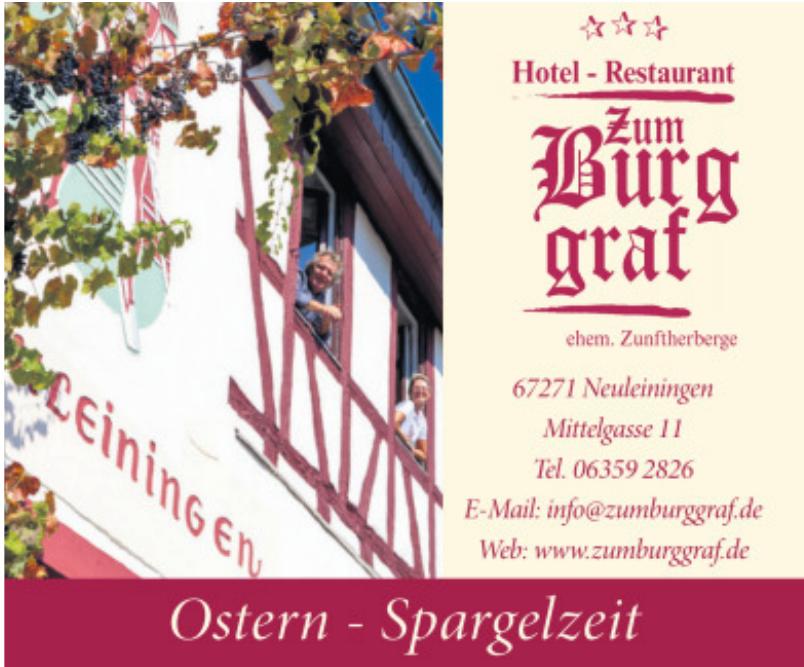 Hotel - Restaurant Zum Burggraf