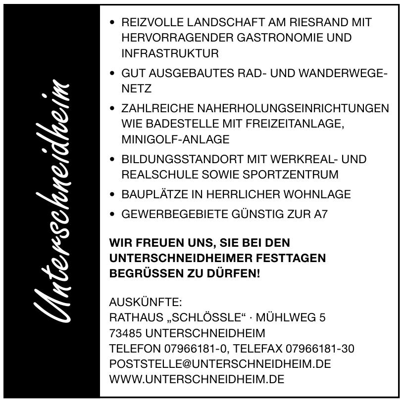 "Rathaus ""Schlössle"""