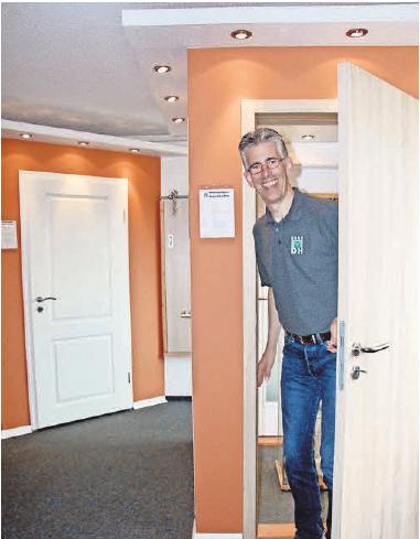 Die Haustüren von Hasenjäger werden auf Maß gefertigt und fachgerecht montiert.