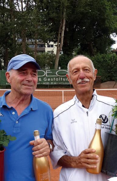 Herren 70: v.l. Paul Schorn mit Adam Antal