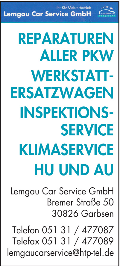 Lemgau Car Service GmbH