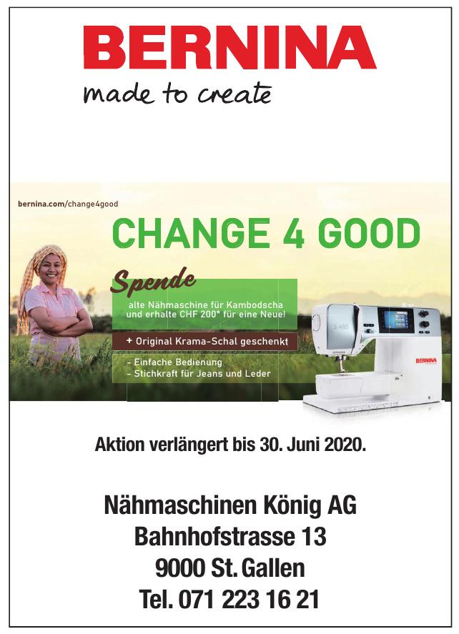 Bernina Nähmaschinen König AG