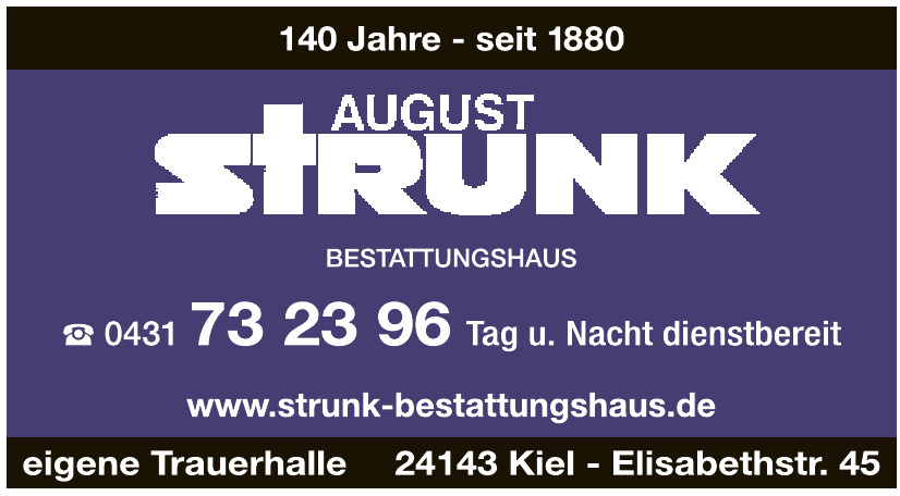 August Strunk GmbH + Co KG