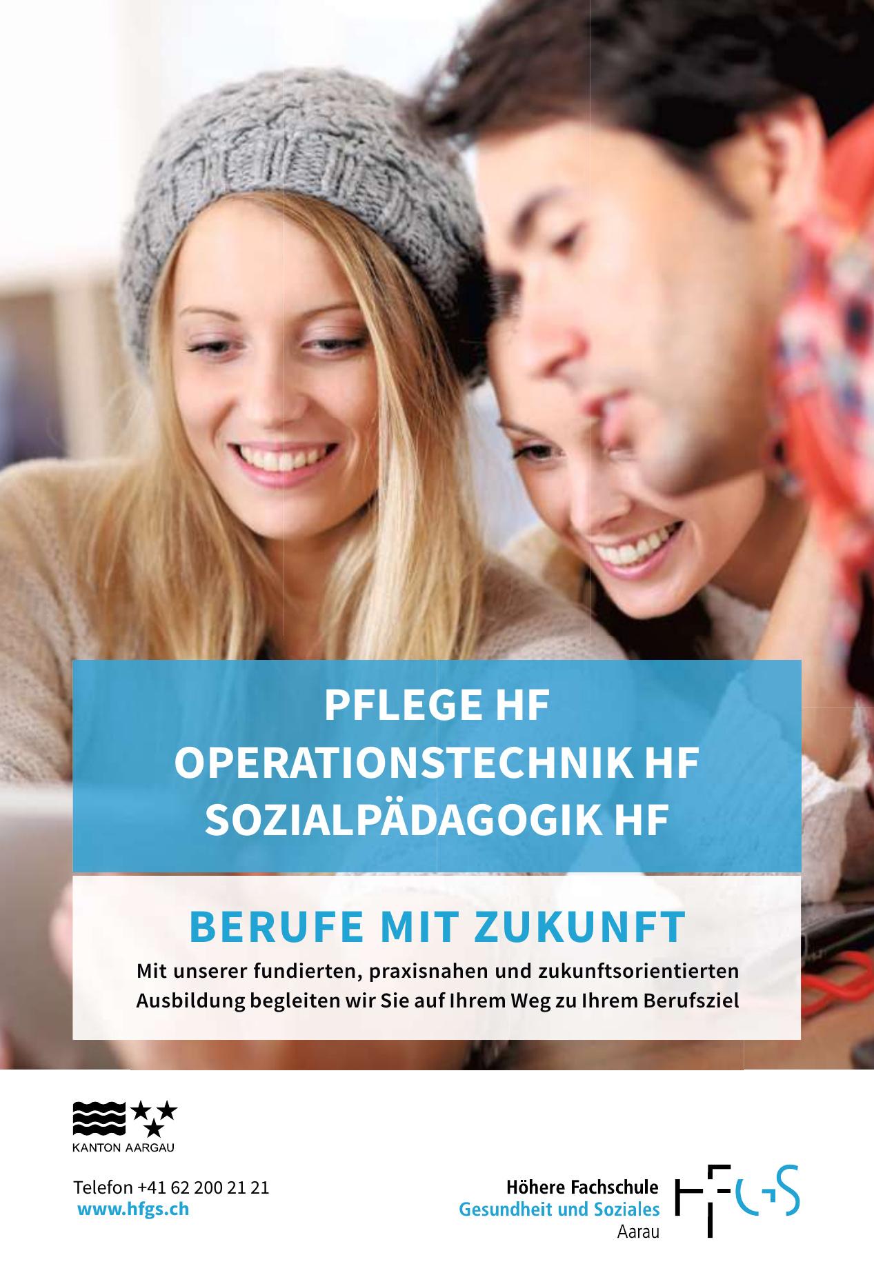 HFGS Höhere Fachschule Gesundheit und Soziales Aarau