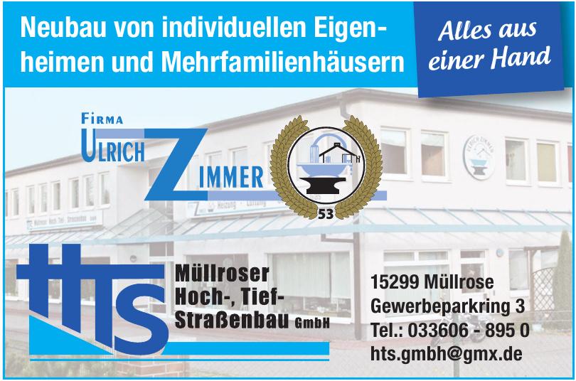 HTS Müllroser Hoch-, Tief- und Straßenbau GmbH