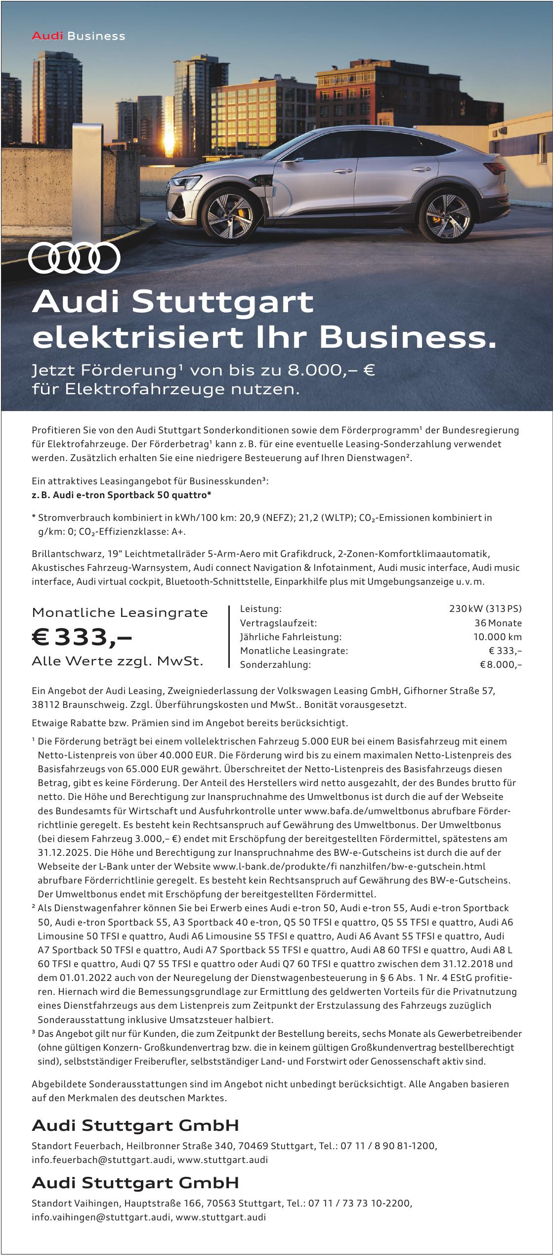 Audi Stuttgart GmbH