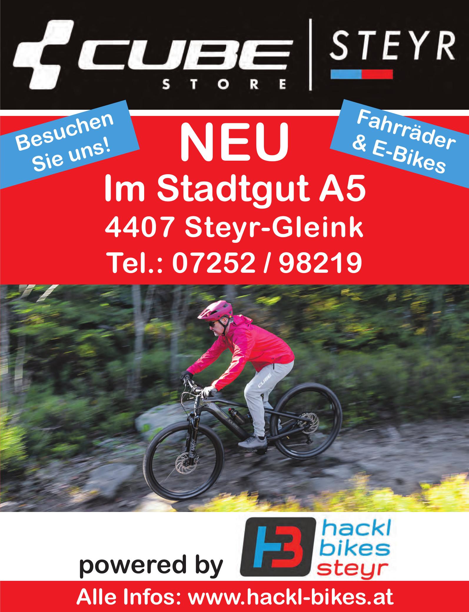 CUBE Store Steyr - Hackl Bikes Steyr