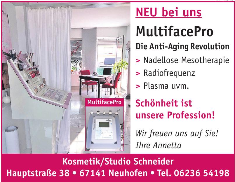 Kosmetik/Studio Schneider