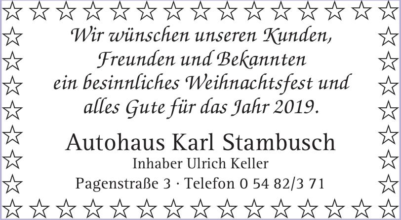 Autohaus Karl Stambusch