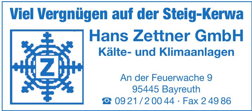 Hans Zettner GmbH Kälte- und Klimaanlagen