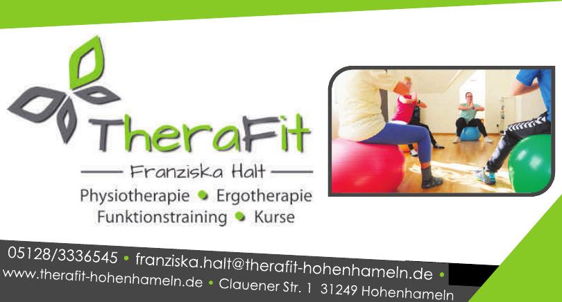 TheraFit Franziska Halt Physiotherapie und Ergotherapie