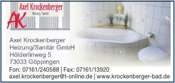Axel Krockenberger Heizung/Sanitär GmbH