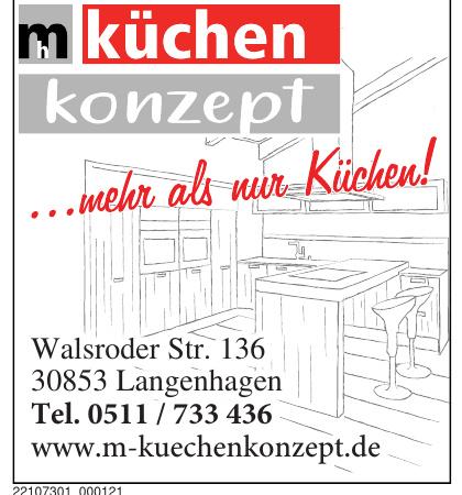 m küchen konzept