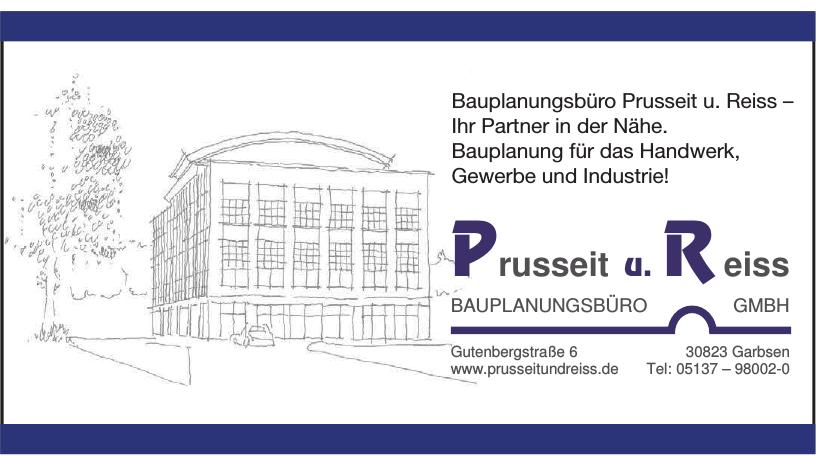 Prusseit und Reiss  Bauplanungsbüro GmbH