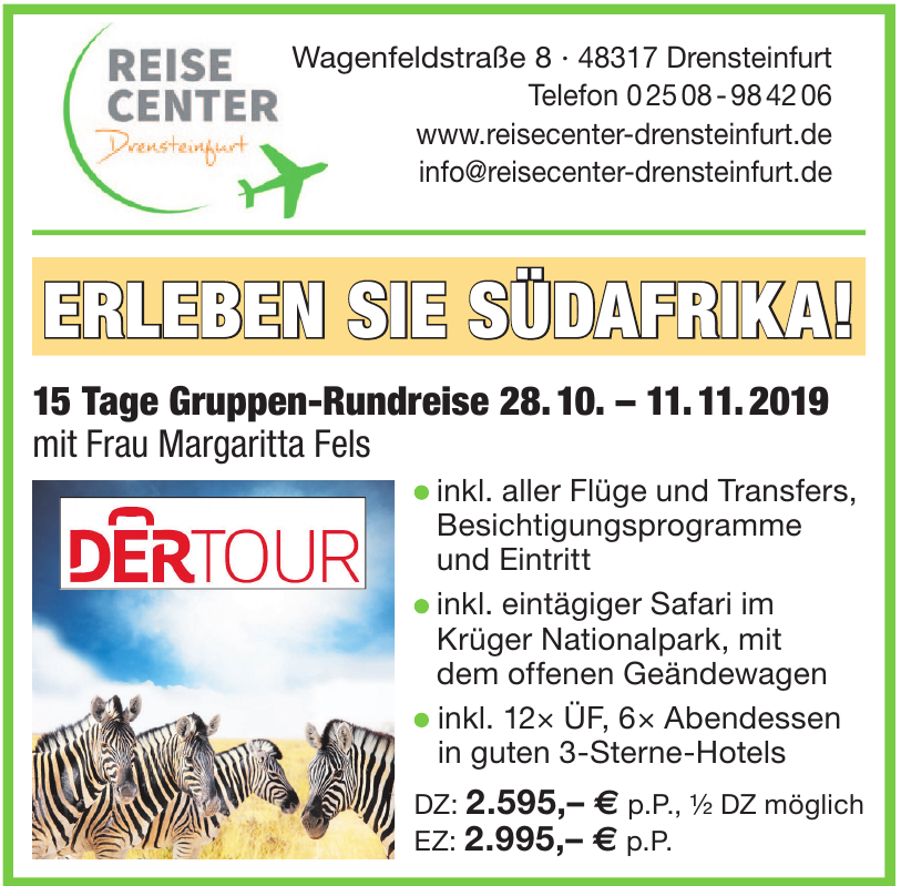 Reise Center Drensteinfurt GmbH
