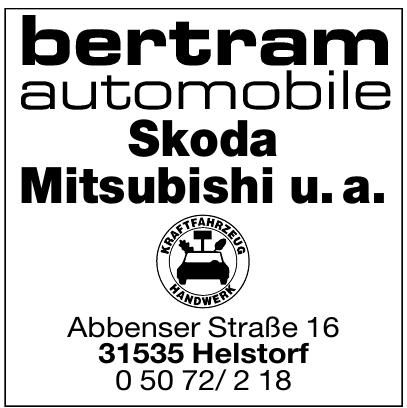Bertram Automobile Skoda