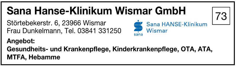 Sana Hanse-Klinikum Wismar GmbH