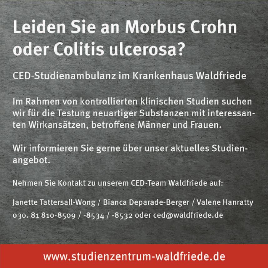 CED-Studienzentrum im Krankenhaus Waldfriede