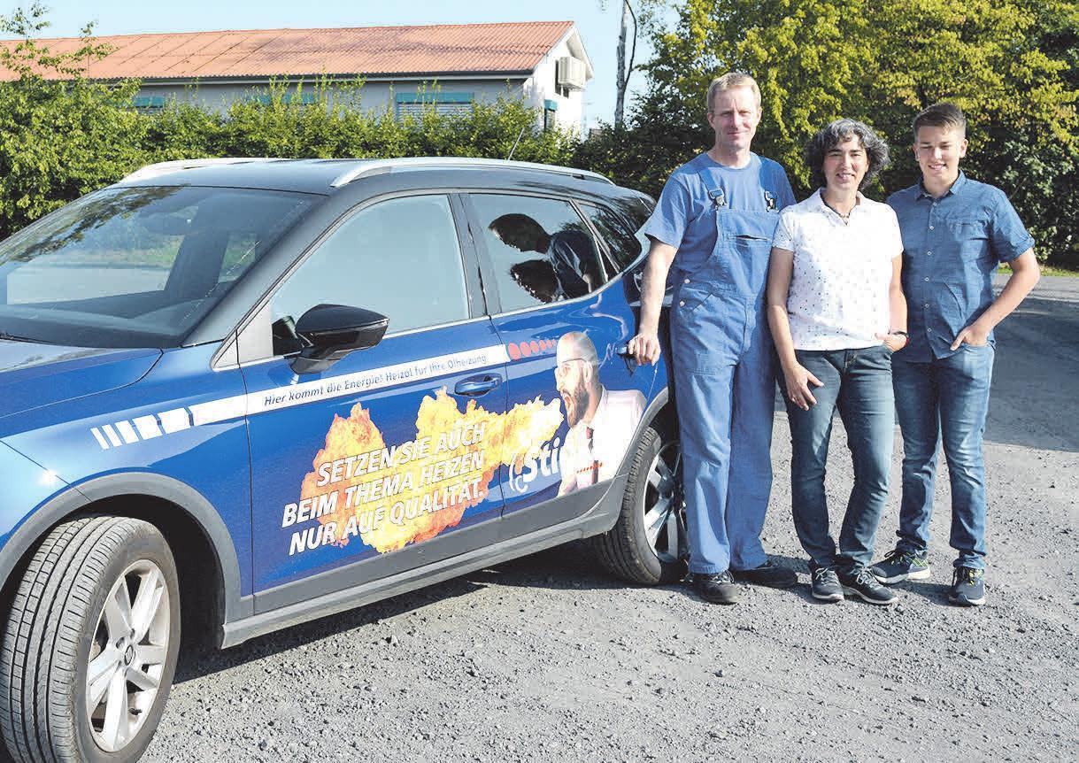 Tina und Jens Stipka freuen sich, dass mit Sohn Jarne schon die dritte Generation in den Startlöchern steht.