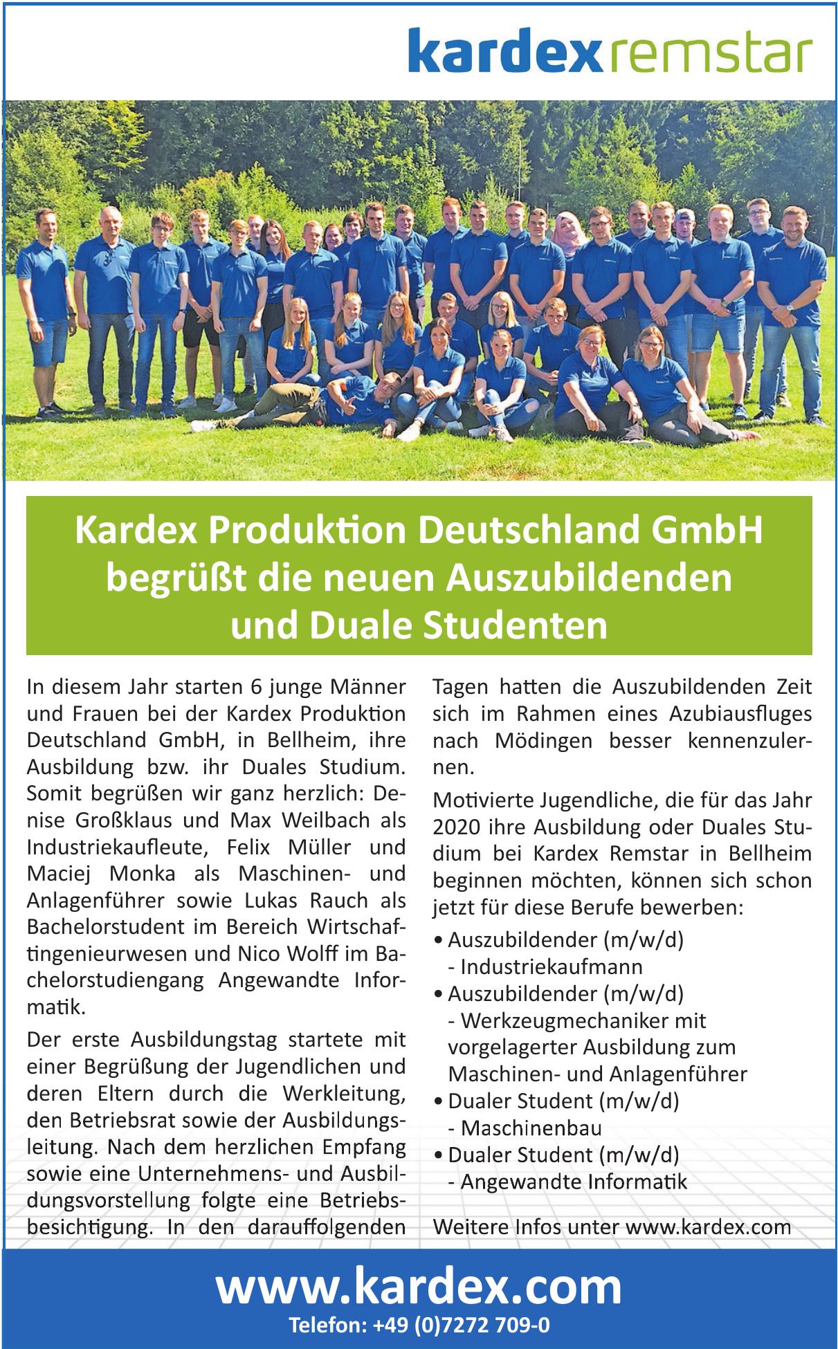 Kardex Produktion Deutschland GmbH