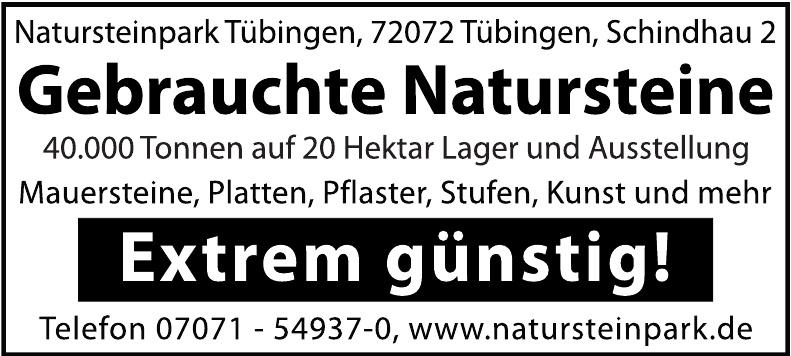 Natursteinpark Tübingen