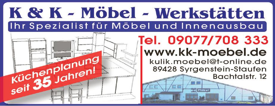 K&K - Möbel - Werkstätten