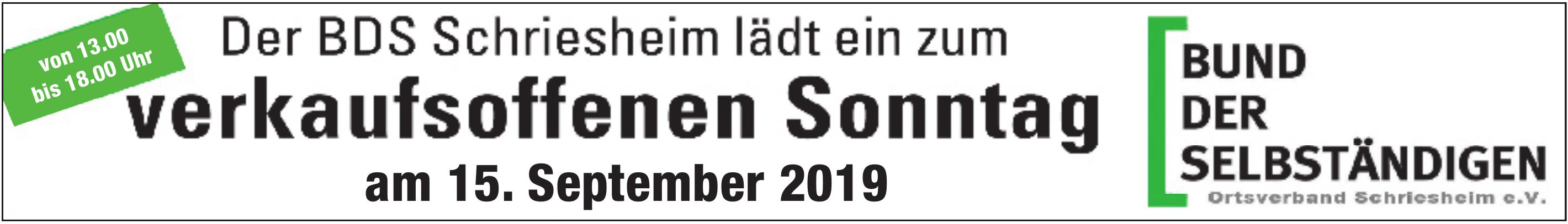 Bund der Selbständigen Ortsverband Schriesheim e.V.