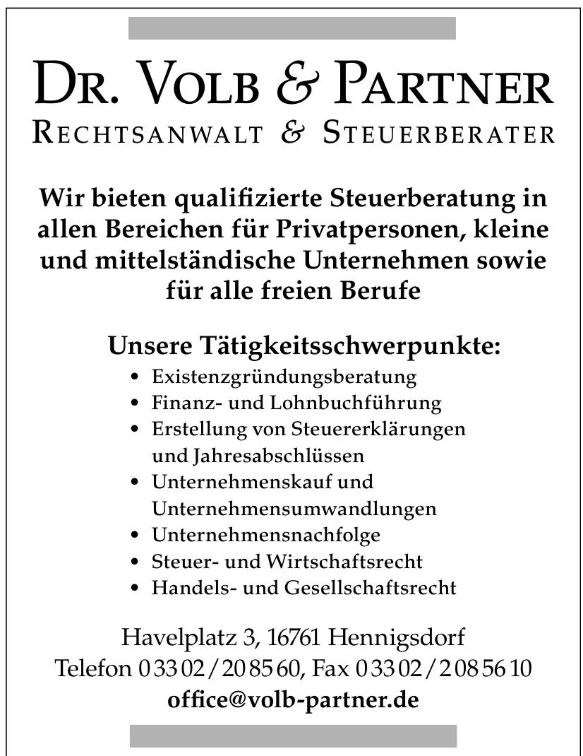 Dr. Volb & Partner