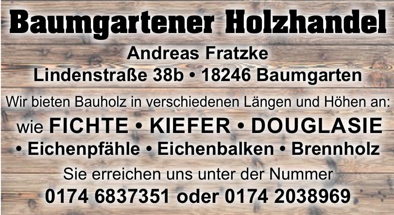 Baumgartener Holzhandel Andreas Fratzke