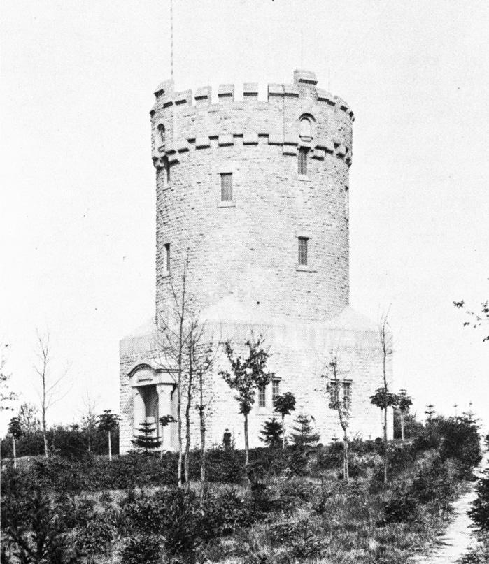 Der Wasserturm im Peiner Herzberg um 1915.