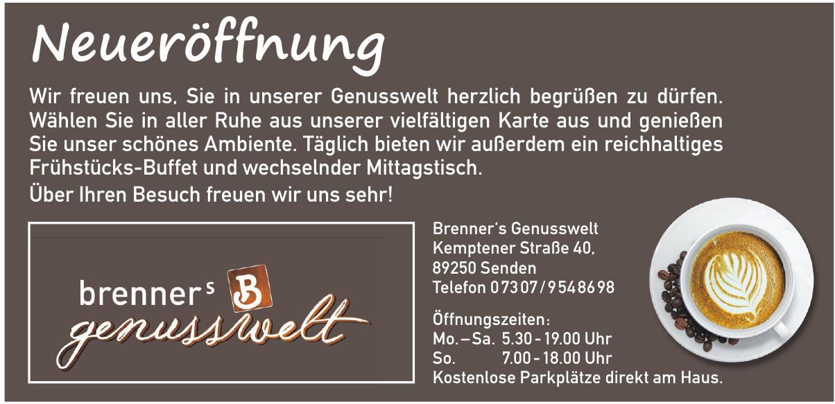 Brenner's Genusswelt