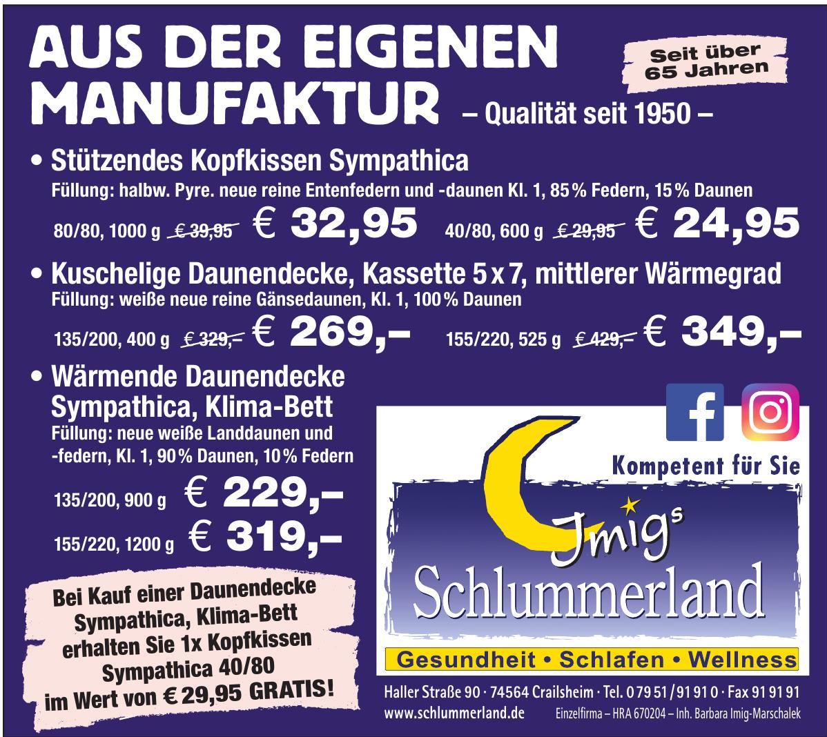Imig´s Schlummerland