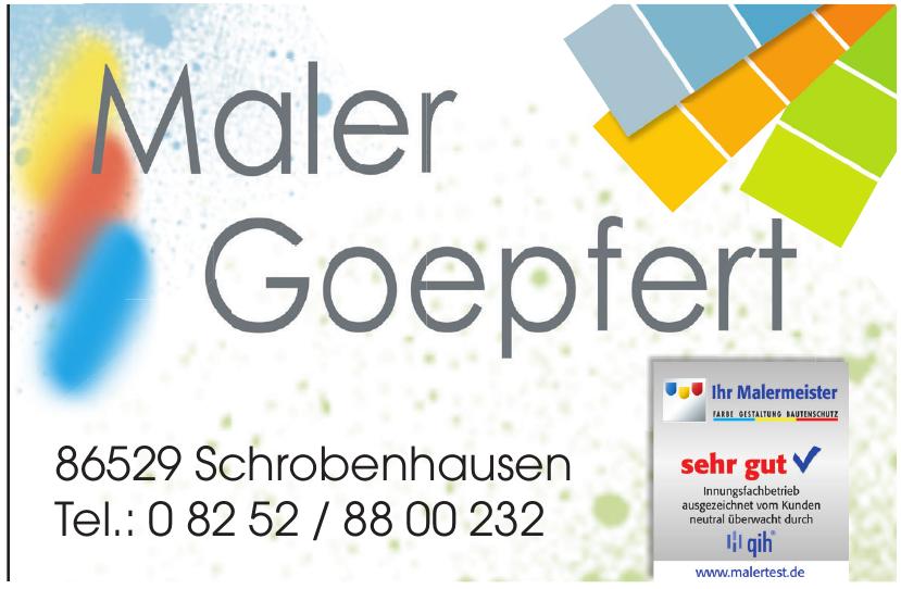 Maler Goepfeld