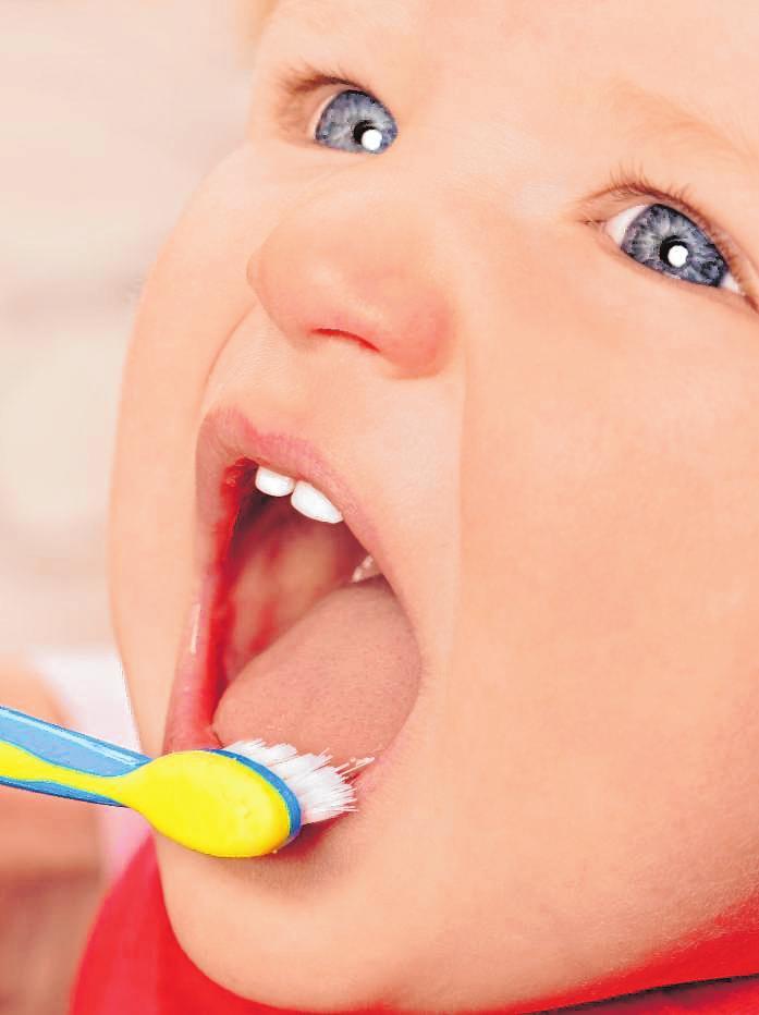 So bleiben Kinderzähne gesund