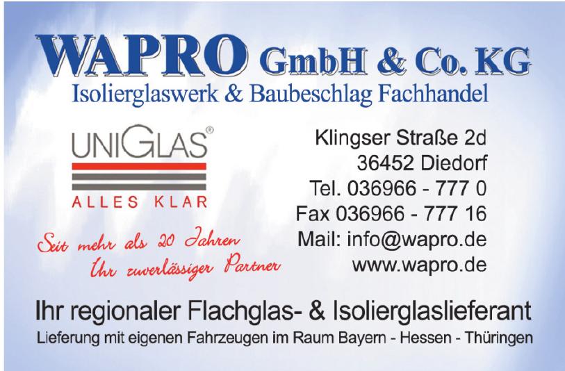 WAPRO GmbH & Co. KG