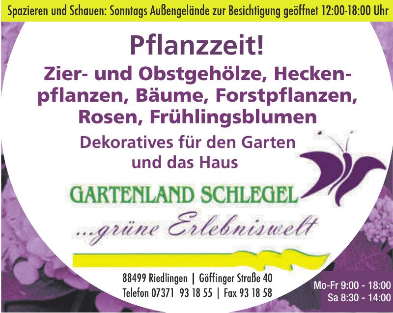 Gartenland Schlegel
