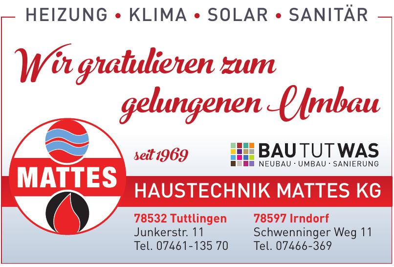 Haustechnik Mattes KG