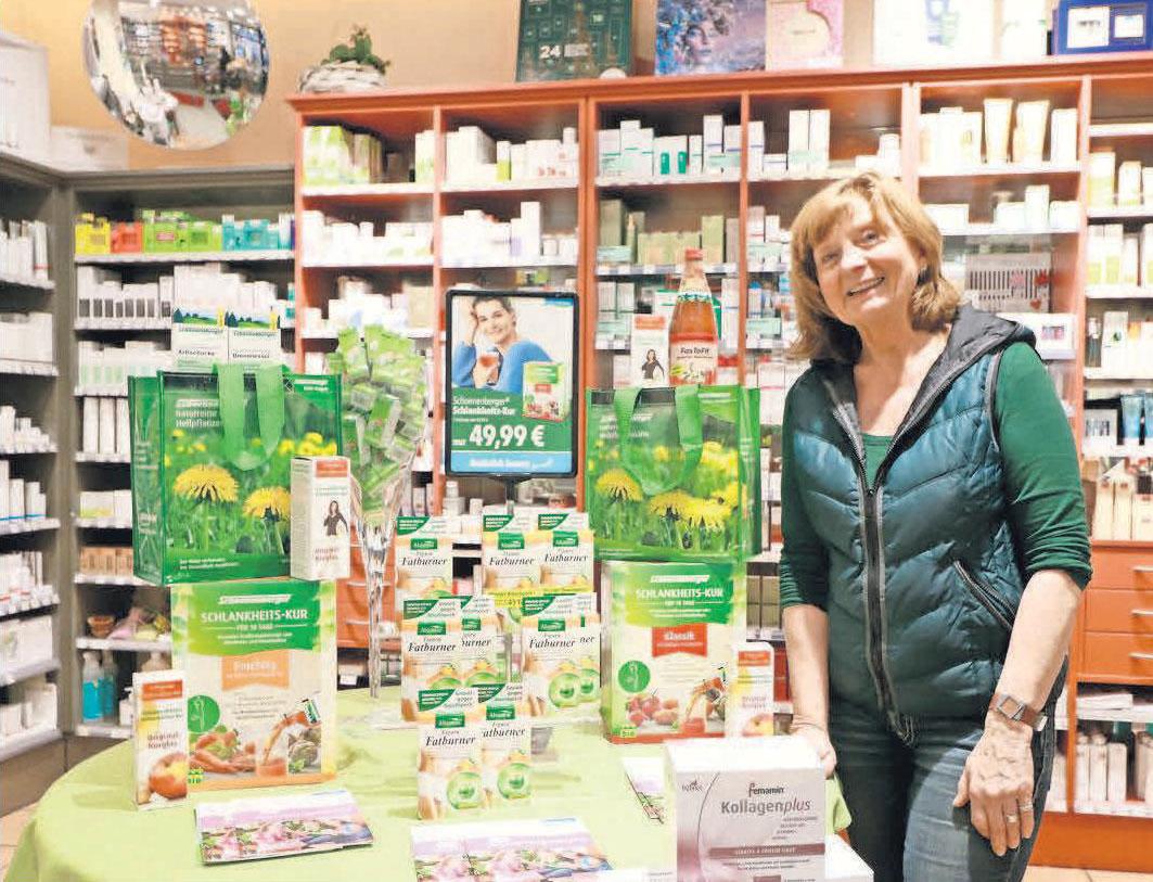 Schlank in den Frühling – im Naturahaus gibt es effektive Produkte, damit die Pfunde purzeln.
