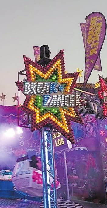 Atemberaubend: Der Breakdancer steht für einen Geschwindigkeitsrausch. FOTO: SCHIFFERSTADT/FREI