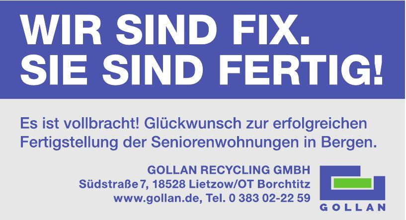 Gollan Recycling GmbH