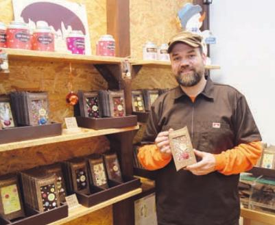 Süßwarenmeister Sören Doll bietet beste Schokolode
