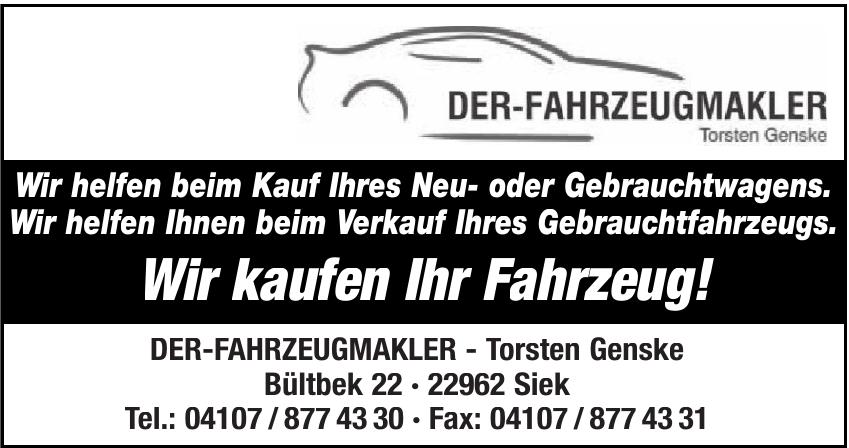 Der-Fahrzeugmakler Torsten Genske