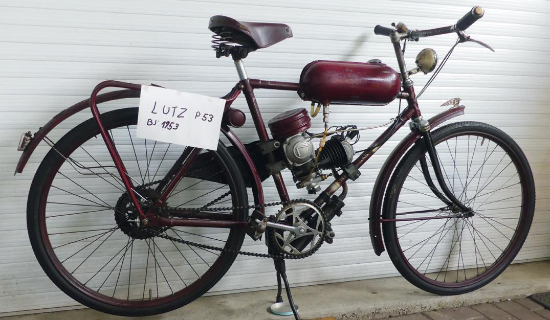 Leider keine Erfolgsgeschichte: Dr. Otto Lutz von der TU Braunschweig brachte 1953 sein erstes Moped auf den Markt. Schon 1954 musste er die Produktion einstellen.