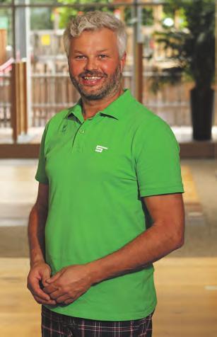 Albert Friedl vom Verkaufsteam in der SECA-Holzwelt Foto: SECA