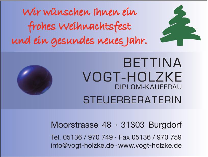 Betina Vogt-Holzke Steuerberaterin