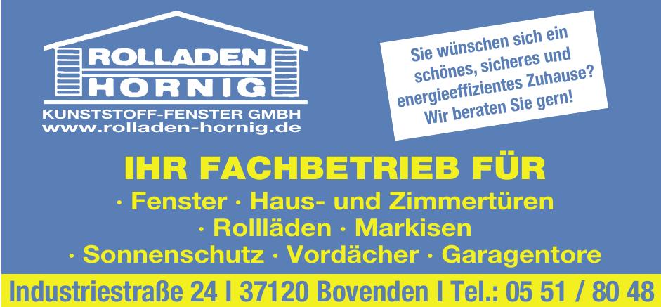 Rolladen Hornig Kunststoff-Fenster GmbH