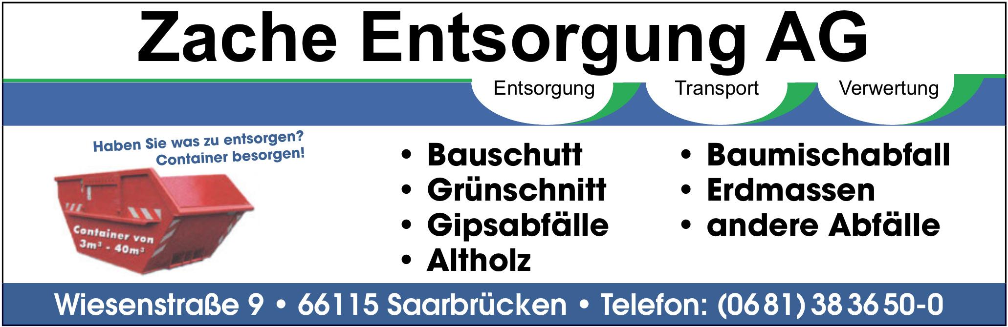 Zache Entsorgung AG